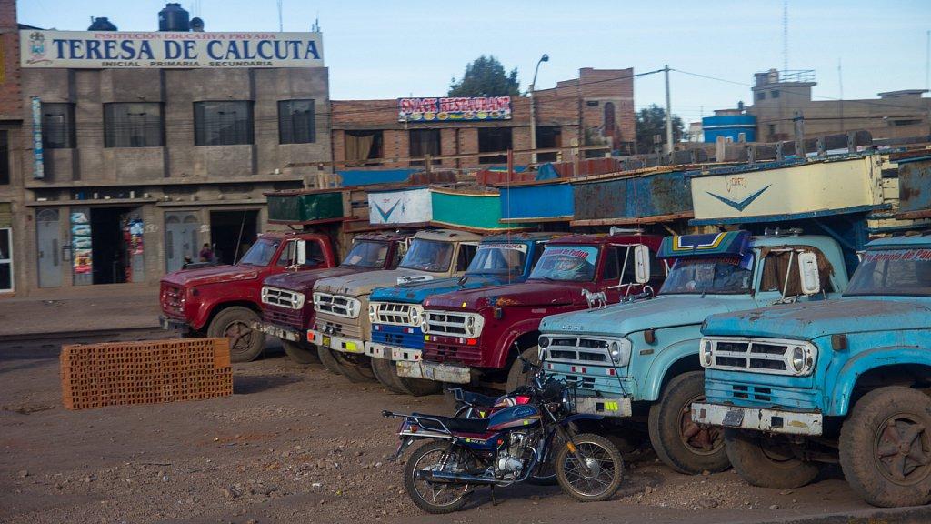 Retired trucks